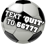 TEXT 'QUIT' TO 66777