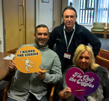 Dean and Louise have been Smokefree for 16 weeks